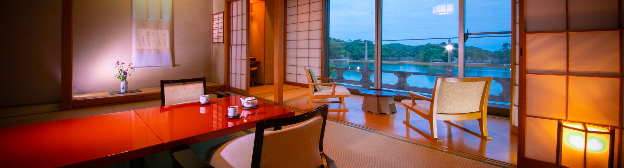 The great sceneries from your room is exclusive to you and your important ones.